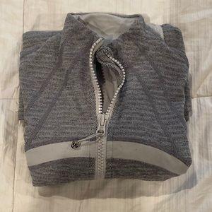 Lululemon grey zip